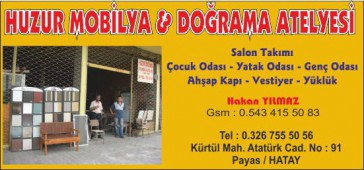 Huzur Mobilya & Doğrama