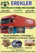 Erekler İthalat İhracat Ve Nakliyat Gıda San.Ltd.Şti.