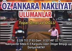 Öz Ankara Nakliyat