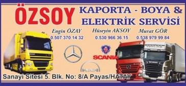 Özsoy Kaporta Boya & Elektrik Servisi