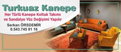 Turkuaz Kanepe