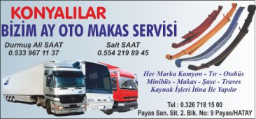 Konyalılar Bizim Ay Oto Makas Servisi