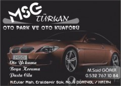 Msg Türkan Oto Park & Oto Kuaför
