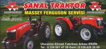 Şanal Traktör