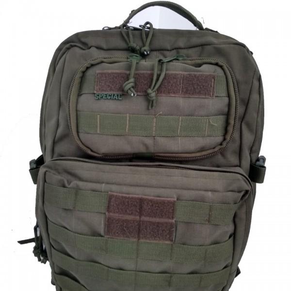 65L Haki Tactical Cordura Çanta