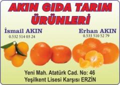 Akın Gıda Tarım Ürünleri