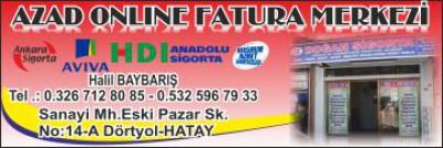 Azad Online Fatura Merkezi