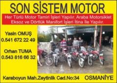 Son Sistem Motor