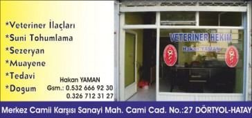 Veteriner Hekim Hakan Yaman