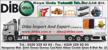 Dibo Boya Gıda Tekstil İth.İhr.Ltd.Şti.