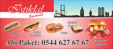 Istiklal Sandwich