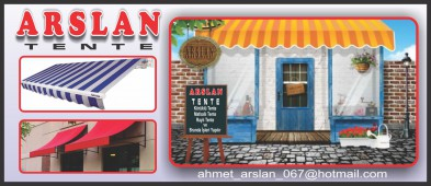Arslan Cam Balkon Tente