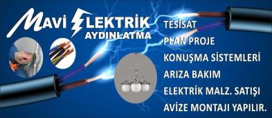 Mavi Elektrik Aydınlatma