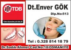 Diş Hekimi Dr. Enver GÖK