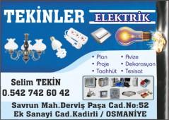 Tekinler Elektrik