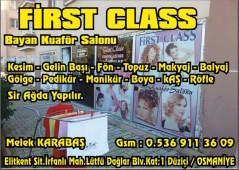 First Class Bayan Kuaförü