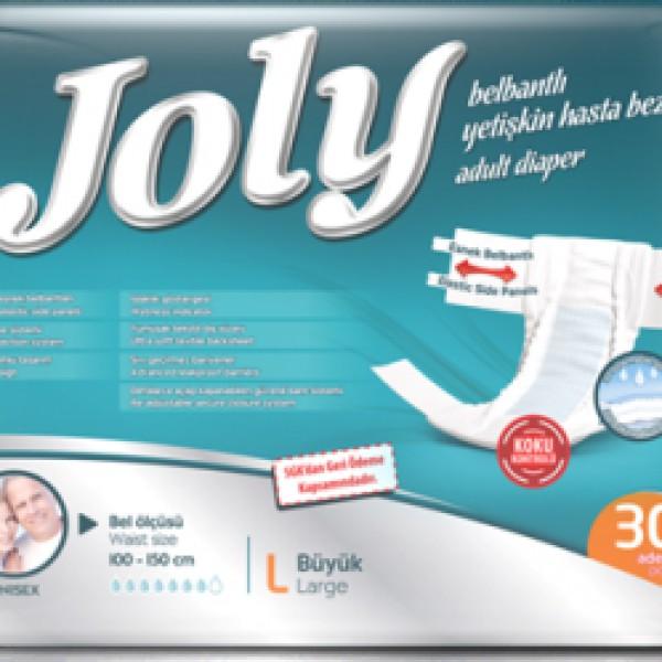Joly Belbantlı Hasta Bezi (30 Adet Large)