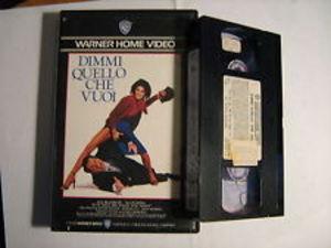 DIMMI QUELLO CHE VUOI (VHS)