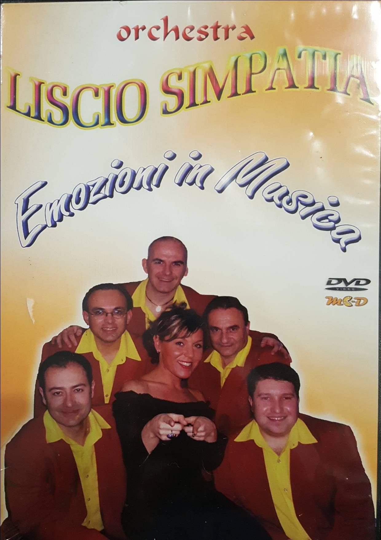 Calendario Orchestre Liscio.Orchestra Liscio Simpatia Emozioni In Musica Dvd