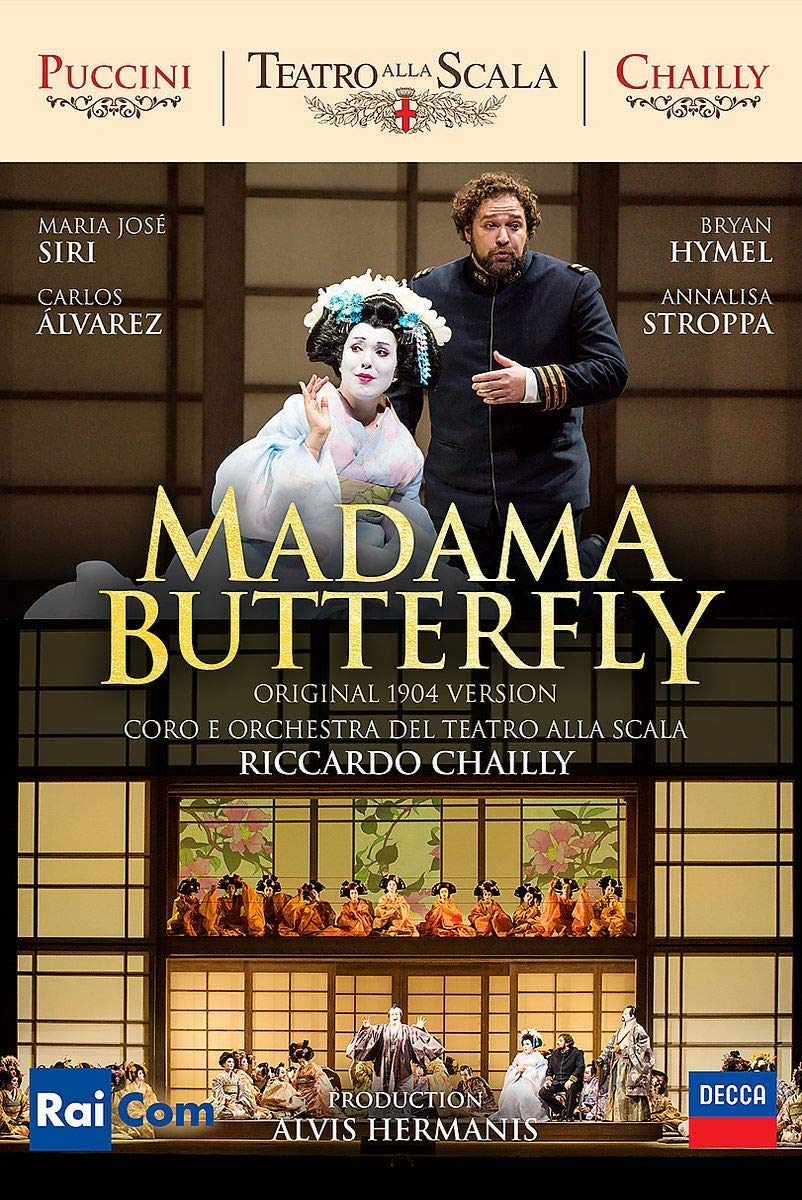 GIACOMO PUCCINI - MADAMA BUTTERFLY (2 DVD) (DVD)