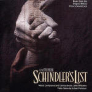 SCHINDLER'S LIST BY JOHN WILLIAMS (CD)