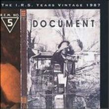 R.E.M. - DOCUMENT (CD)