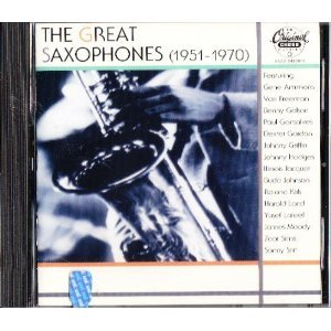 THE GREAT SAXOPHONE (1951-1970) (CD)