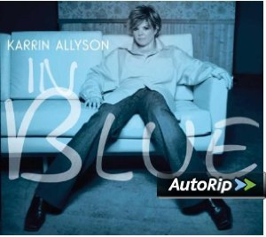 KARRIN ALLYSON - IN BLUE (CD)