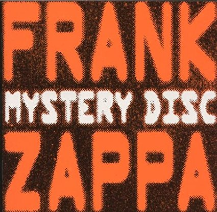 FRANK ZAPPA - MYSTERY DISC (CD)