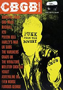 CBGB PUNK FROM THE ROWERY (DVD)
