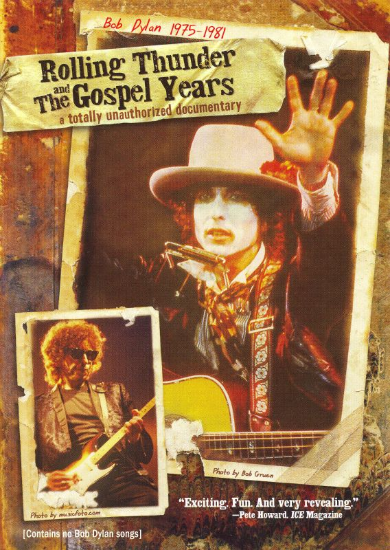 BOD DYLAN - ROLLING THUNDER AND THE GOSPEL YEARS (DVD)