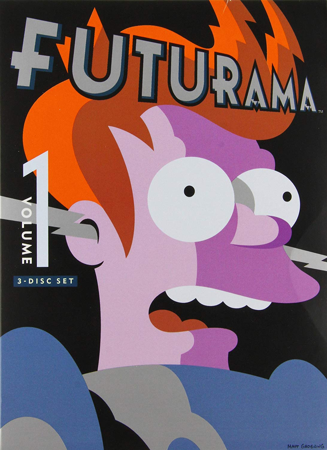 COF.FUTURAMA VOL.1 -3DVD (DVD)