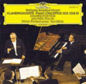 MOZART: CONCERTI PER PIANOFORTE N.23, N.19 (CD)