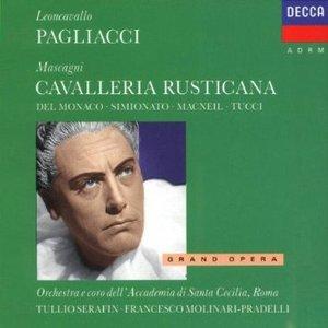LEONCAVALLO: PAGLIACCI CAVALLERIA (CD)