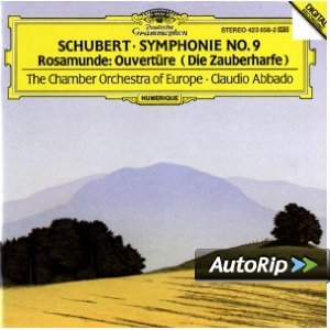SCHUBERT: SYMPHONIE NR.9 ROSAMUNDE (CD)