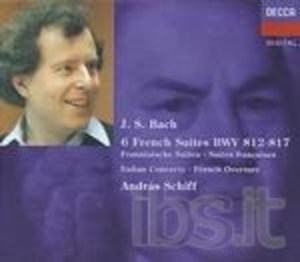 BACH: 6 FRENCH SUITES BWV 812-817 -2CD (CD)