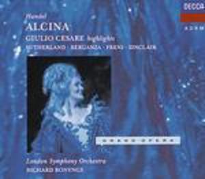 ALCINA - GIULIO CESARE -3CD (CD)