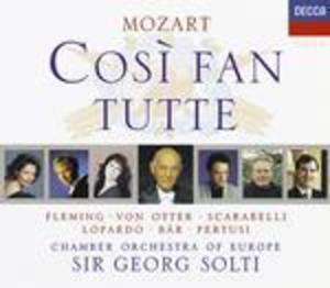 MOZART: COSI' FAN TUTTE 3CD (CD)