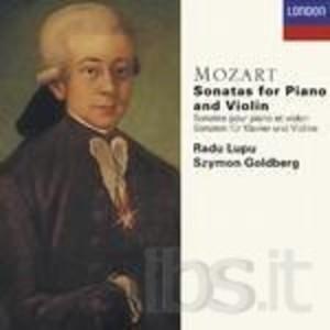 MOZART: SONATAS FOR PIANO AND VIOLIN -4CD (CD)