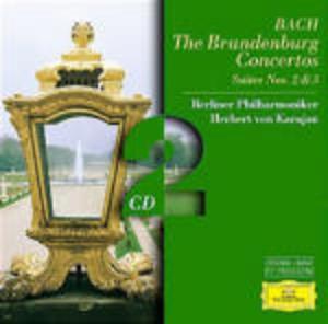 BACH: THE BRANDENBYRG CONCERTOS SUITES NOS 2 3 2CD (CD)