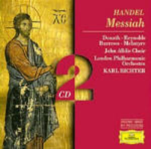 HANDEL: MESSIAH 2CD (CD)