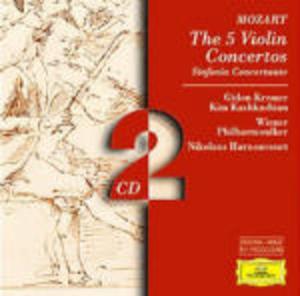 MOZART: THE 5 VIOLIN CONCERTOS 2CD (CD)