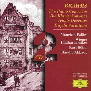 BRAHMS: THE PIANO CONCERTOS -2CD (CD)