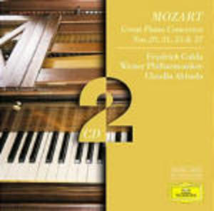 MOZART: PIANO CONCERTOS N.20 21 25 27 (CD)