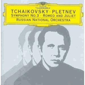 TCHAIKOVSKY: SYMPHONY NO.3 ROMEO JULIET (CD)