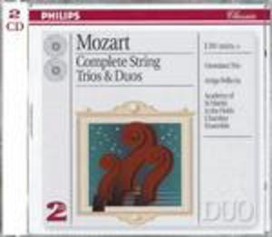 MOZART: COMPLETE STRING TRIOS & DUOS (CD)