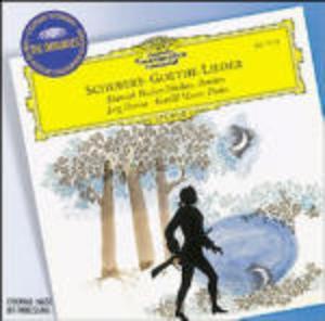 SCHUBERT: GOETHE LIEDER (CD)
