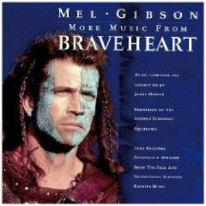 BRAVEHEART MORE MUSIC JAMES HORNER (CD)