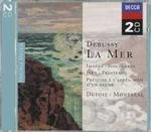DEBUSSY: LA MER - IMAGES - NOTTURNI - JEUX - PRINTEMPS (CD)