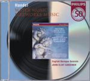 HANDEL MUSICA SULL'ACQUA (WATER MUSIC) - MUSICA PER I REALI FUOCHI D'ARTIFICIO (MUSIC FOR THE ROYAL FIREWORKS) (CD)